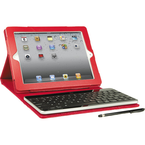 Hammerhead Leather Bluetooth Keyboard Case (Red)
