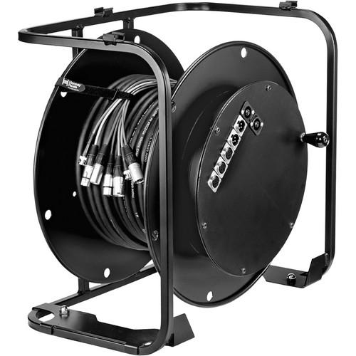 Hannay Reels AV-2 Audio Video Reel (Black)