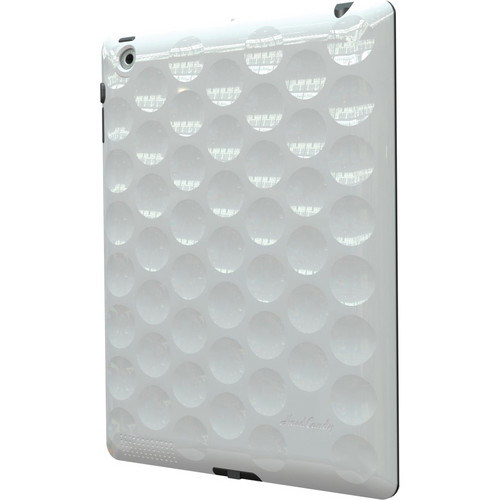 Hard Candy Cases Bubble 360 Case for the new iPad (White)