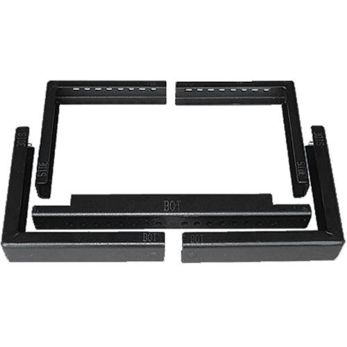 Hard Steal Width Extension Kit for AV Cage (Rev. 2) Anti-Theft Projector Mount (Black)