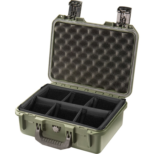 Pelican iM2100 Storm Case with Padded Dividers (Olive Drab)