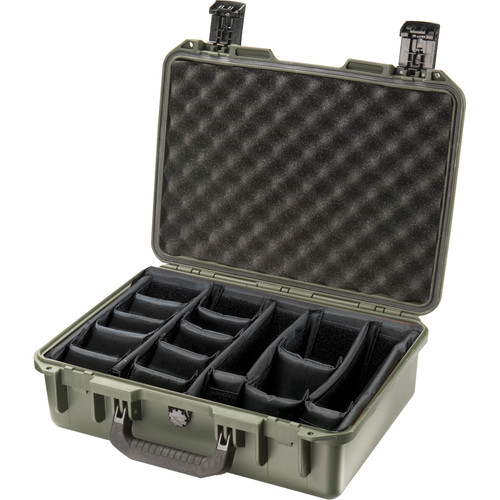 Pelican iM2300 Storm Case with Padded Dividers (Olive Drab)