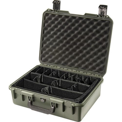 Pelican iM2400 Storm Case with Padded Dividers (Olive Drab)