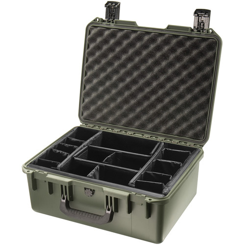 Pelican iM2450 Storm Case with Padded Dividers (Olive Drab)