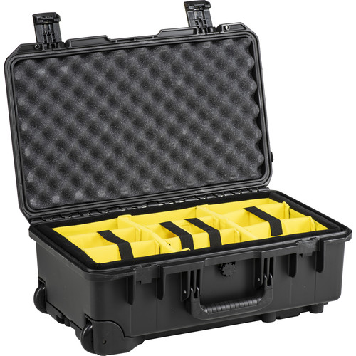Pelican iM2500 Storm Case with Padded Dividers (Black)