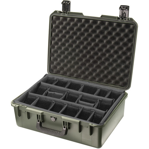 Pelican iM2600 Storm Case with Padded Dividers (Olive Drab)
