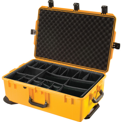 Pelican iM2950 Storm Trak Case with Padded Dividers (Yellow)