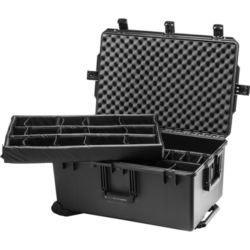 Pelican iM2975 Storm Trak Case with Padded Dividers (Black)