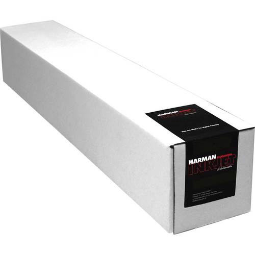 "Harman By Hahnemuhle Matte Cotton Smooth Archival Inkjet Paper (17"" x 49.2' Roll)"