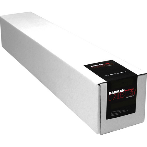 """Harman By Hahnemuhle Gloss Baryta Warmtone Inkjet Paper (320 gsm, 24"""" x 49', 609.6mm x 15 m Roll)"""