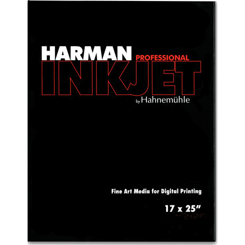 "Harman By Hahnemuhle Gloss Baryta Inkjet Paper (17 x 25"", 25 Sheets)"