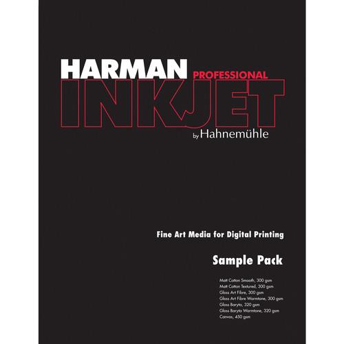 "Harman By Hahnemuhle Sampler Pack for Inkjet (8.5 x 11"", 14 Sheets)"