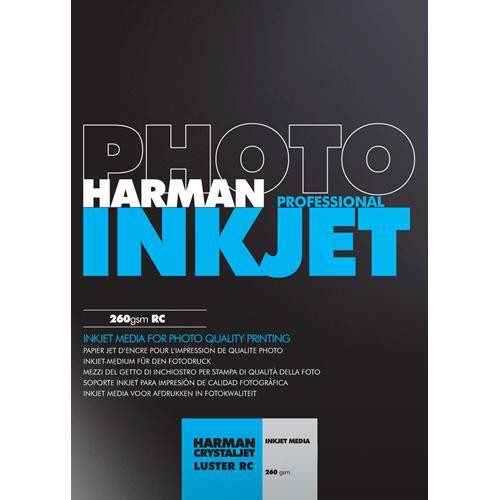 "Harman Photo Luster Photo Paper (8.5 x 11"", 30 Sheets)"