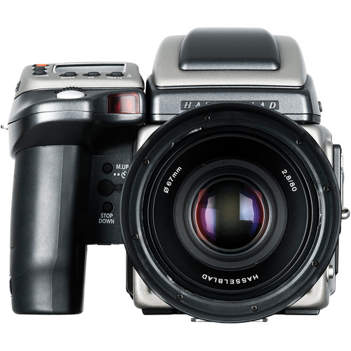 Hasselblad H2F Medium Format Auto Focus SLR Camera Kit - H2F Body, 80mm/2.8 HC Lens, Grip, Viewfinder and Film Magazine