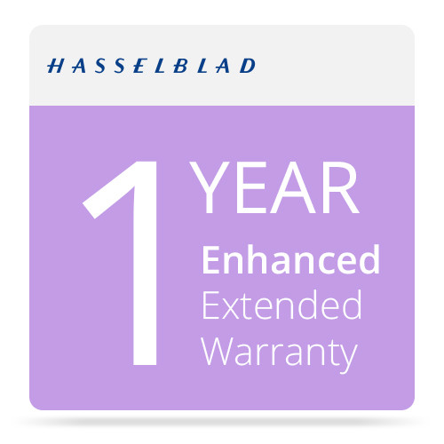 Hasselblad 1 Year Original Warranty Enhanced