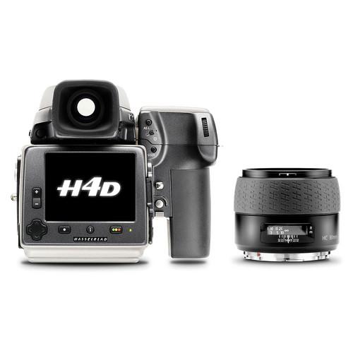 Hasselblad H4D-50MS Medium Format DSLR Camera with 80mm f/2.8 HC Lens