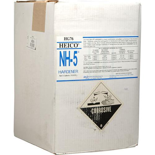 Heico Hardener for NH-5 Fixer (Liquid) for Black & White Film & Paper - 5 Gallons