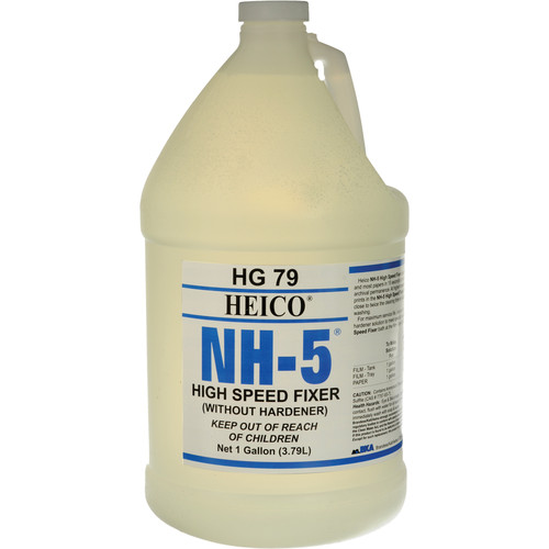 Heico NH-5 Fixer Without Hardener for B&W Film and Paper (1 Gallon)