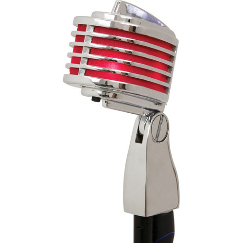 Heil Sound The Fin Dynamic Chrome Vocal Microphone (Red LEDs)