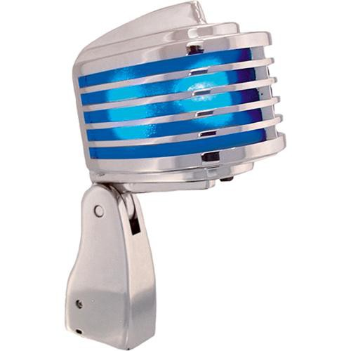 Heil Sound The Fin Dynamic Chrome Vocal Microphone (Blue LEDs)