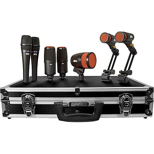 Heil Sound HDK-7 7-Piece Dynamic Drum Microphone Kit
