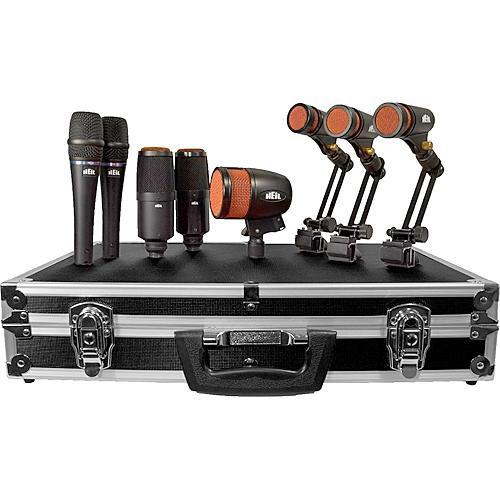 Heil Sound HDK-8 8-Piece Dynamic Drum Microphone Kit