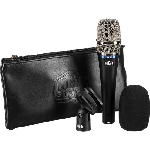 Heil Sound PR 22 UT Handheld Cardioid Dynamic Microphone (Stainless Steel Grille)
