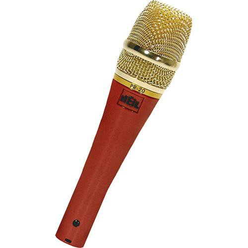Heil Sound PR 20 Dynamic Cardioid Handheld Microphone (Red Pearl)