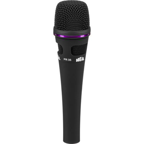 Heil Sound PR 35 Handheld Dynamic Cardioid Microphone (Black)