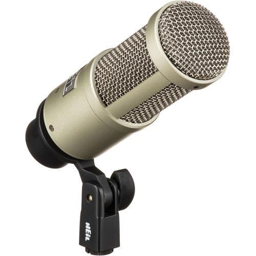 Heil Sound PR 40 Dynamic Cardioid Front-Address Studio Microphone (Champagne)