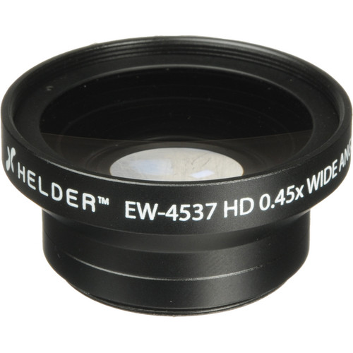 Helder EW-4537 37mm HD 0.45x Wide Angle Conversion Lens