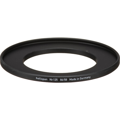 Heliopan 58-86mm Step-Up Ring (#125)