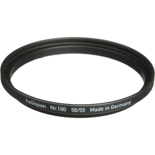 Heliopan 55-58mm Step-Up Ring (#180)