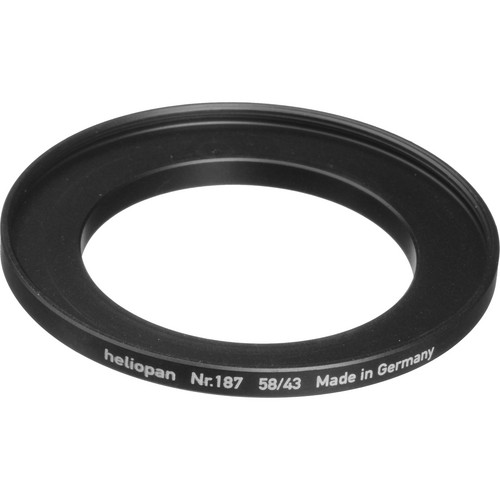 Heliopan 43-58mm Step-Up Ring (#187)