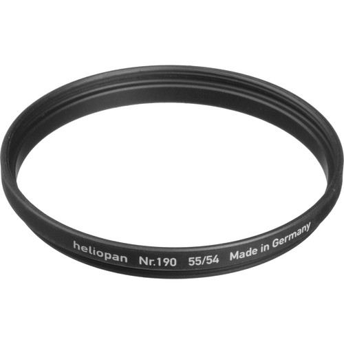 Heliopan 54-55mm Step-Up Ring (#190)