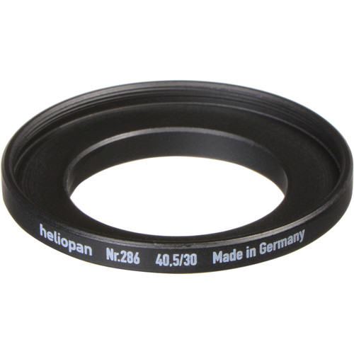 Heliopan 30-40.5mm Step-Up Ring (#286, 0.5mm Pitch)