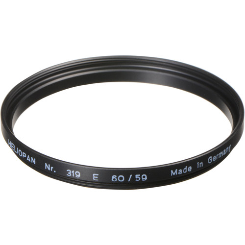 Heliopan 59-60mm Step-Up Ring (#319)