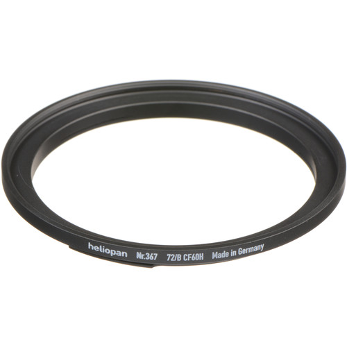 Heliopan #367 Adapter Ring (Bay 60 Lens Size to 72mm Filter Size)
