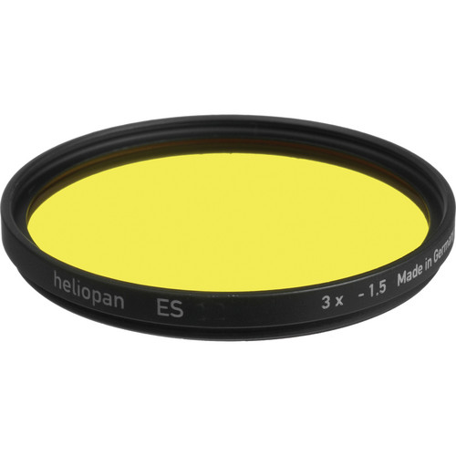 Heliopan Series 6 Medium-Yellow #8 Glass Filter for Black and White Film