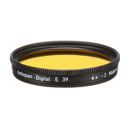 Heliopan 39mm #15 Dark Yellow Filter