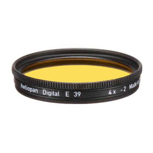 Heliopan 39mm #15 Dark Yellow Filter