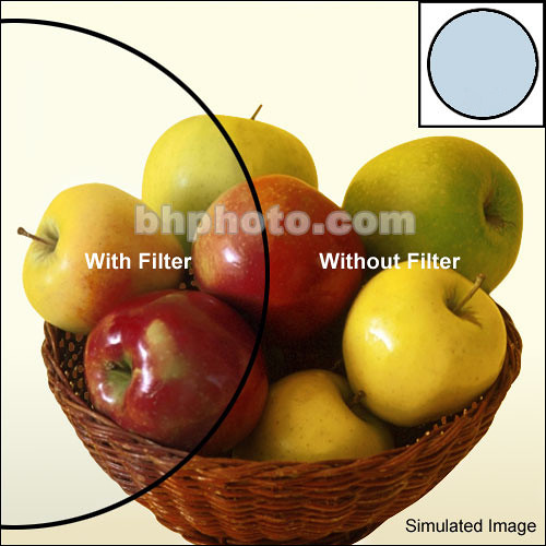 Heliopan 49mm KB6 (80C) Cooling Color Conversion Glass Filter