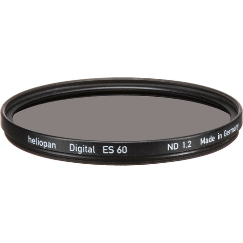 Heliopan 60mm Solid Neutral Density 1.2 Filter (4 Stop)