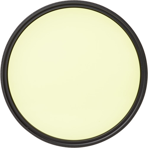 Heliopan Bay 50 #5 Light-Yellow Glass Filter for Black and White Film