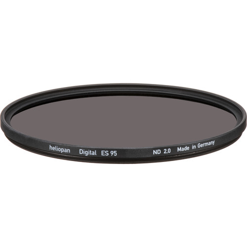Heliopan 95mm Solid Neutral Density 2.0 Filter (6.6 Stop)