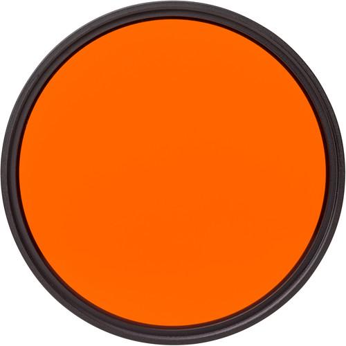 Heliopan Bay 1 #22 Orange Glass Filter for Black and White Film