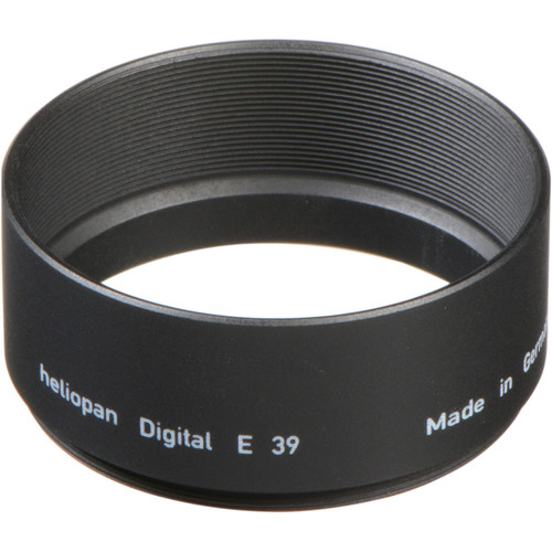 Heliopan 39mm Long Metal Lens Hood