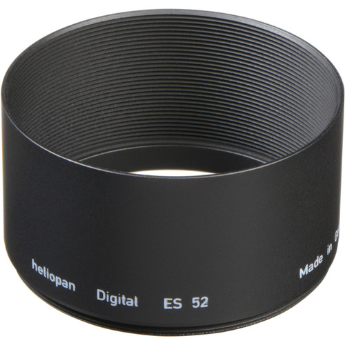 Heliopan 52mm Metal Lens Hood (Long)