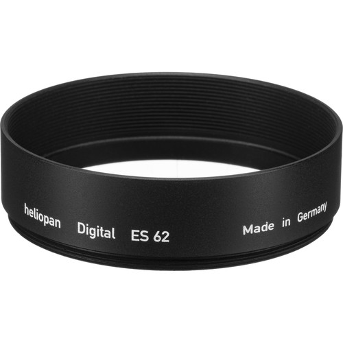 Heliopan 62mm Short Metal Lens Hood
