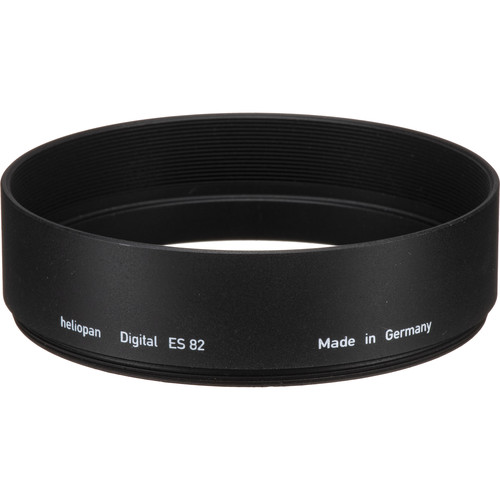 Heliopan 82mm Short Metal Lens Hood